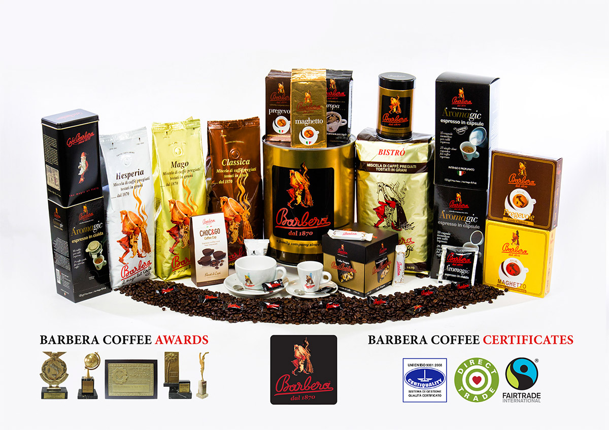 Barbera coffee products